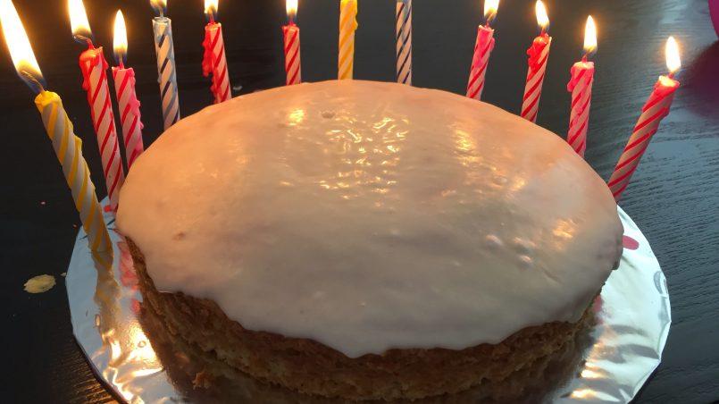 Sour Cream & C Cake