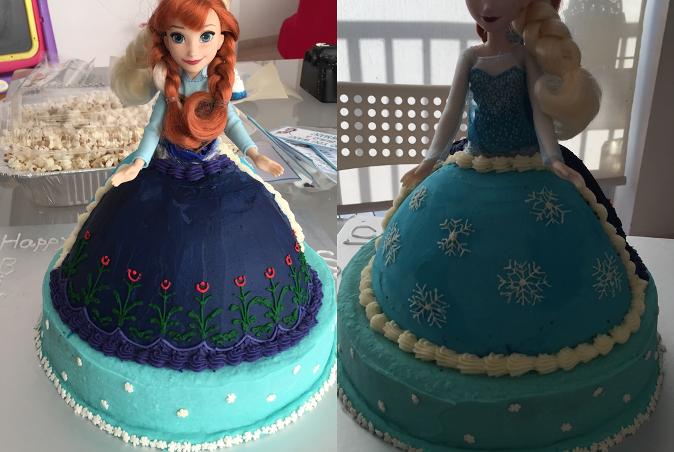 2 sided cake